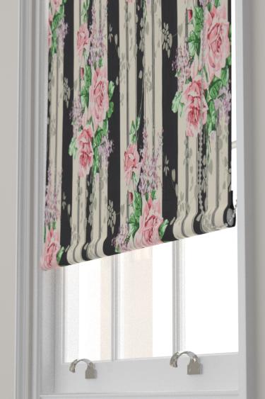 Sanderson Cecile Rose Ebony / Rose Blind - Product code: 224328
