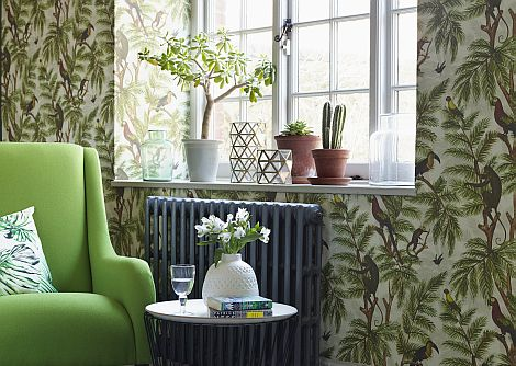 Graduate Collection Jungle Print Natural World Multi Wallpaper