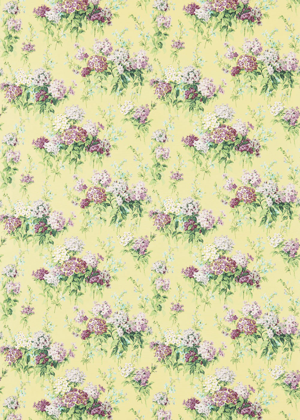 Sanderson Fabric Sweet Williams 224332