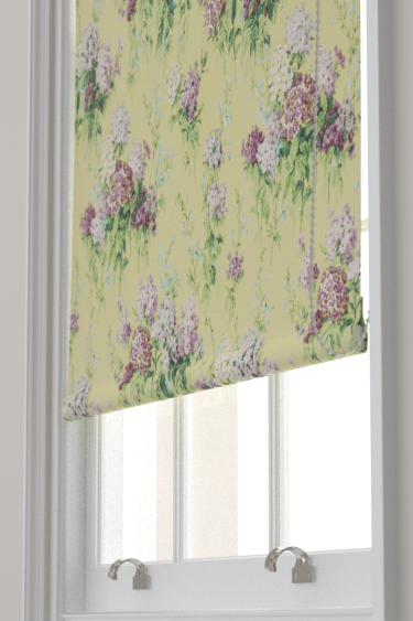 Sanderson Sweet Williams Linden / Mulberry Blind - Product code: 224332
