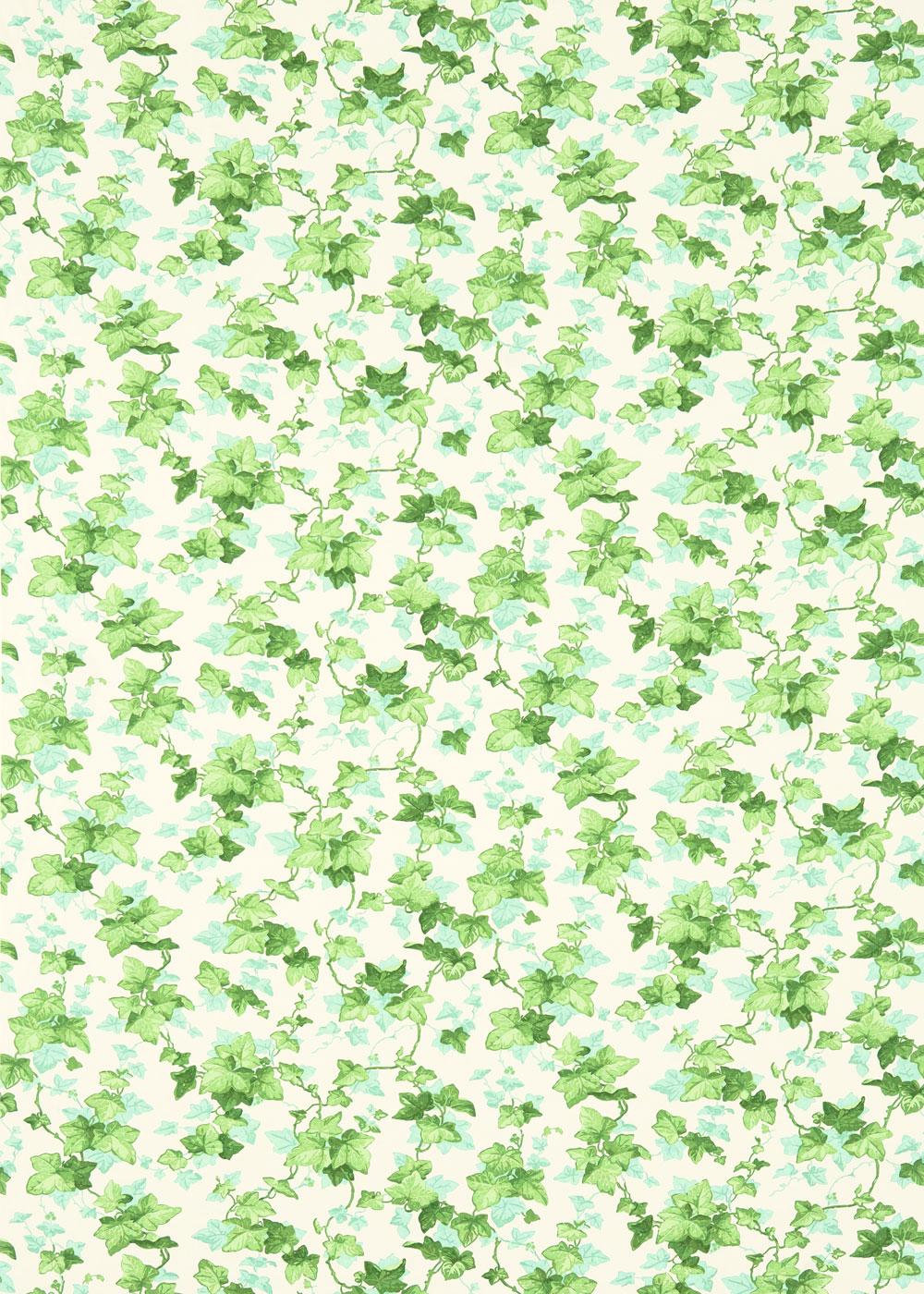 Sanderson Hedara Green Fabric - Product code: 224336