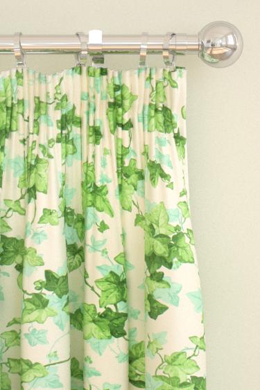 Sanderson Hedara Green Curtains - Product code: 224336