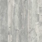 Albany Distressed Wood Grey Wallpaper