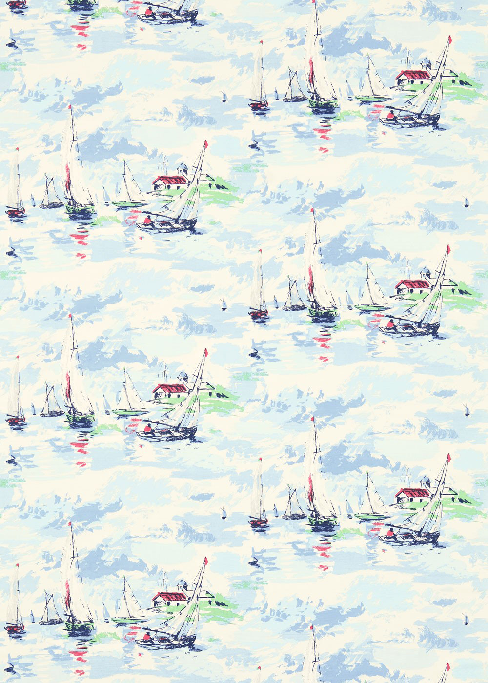 Sanderson Fabric Sail Away 224340