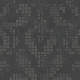 Albany Holographic Damask Motif Black Wallpaper - Product code: 20747