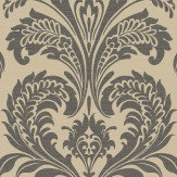 SketchTwenty 3 Travertina Black / Gold Wallpaper - Product code: CO00100