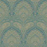 SketchTwenty 3 Regal Teal Wallpaper - Product code: CO00116
