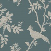 SketchTwenty 3 Grandeur Petrol Wallpaper - Product code: CO00120