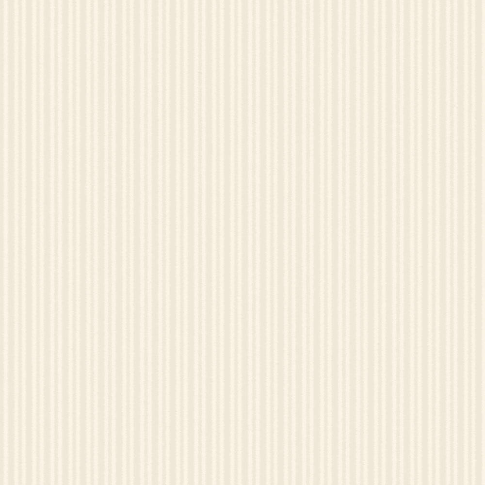 SketchTwenty 3 Cotton Stripe Ivory Wallpaper - Product code: CO00123