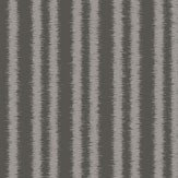 SketchTwenty 3 Cotton Stripe Charcoal Wallpaper - Product code: CO00150