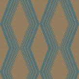 SketchTwenty 3 Concertina Teal Wallpaper