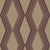 SketchTwenty 3 Concertina Burgundy Wallpaper