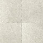 Albany Leather Off White Wallpaper