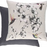 Harlequin Amazilia Floral Cushion Linen