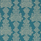 Zoffany Katarina Peacock Wallpaper