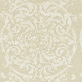 Zoffany Tespi Soft Gold / Cream Wallpaper