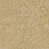 Zoffany Renaissance Damask Warm Gold Wallpaper