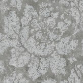 Zoffany Fresco Secco Silver Wallpaper