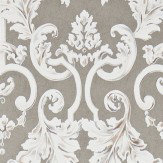 Zoffany Marmorino Harbour Grey Wallpaper - Product code: 312034