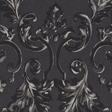 Zoffany Marmorino Ebony Wallpaper - Product code: 312035
