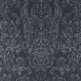 Zoffany Brocatello Anthracite  Wallpaper - Product code: 312117