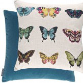 Harlequin Papilio Cushion Flamingo / Papaya Flamingo & Papaya