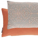 Harlequin Java Cushion Neutral / Orange Neutral & Orange