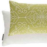 Harlequin Java Cushion Lime Green