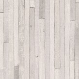 Albany Thin Planks White Wallpaper
