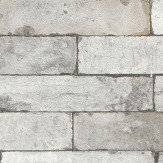 Albany Brick Effect Grey Wallpaper