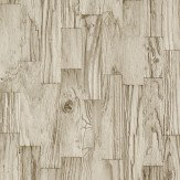 Albany Planks Sand Wallpaper