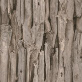 Albany Driftwood Brown Wallpaper