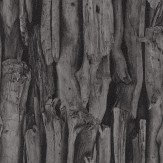 Albany Driftwood Black Wallpaper