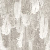 Albany Ostrich Feathers Effect Beige Wallpaper