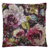 mattiazzo cushion by designers guild damson wallpaper. Black Bedroom Furniture Sets. Home Design Ideas