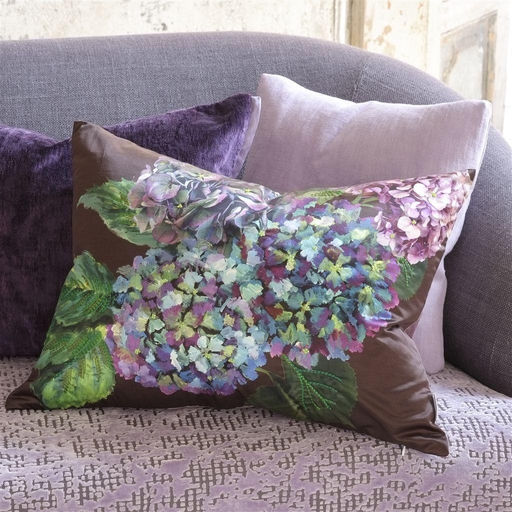 Designers Guild Indivara Cushion Violet extra image