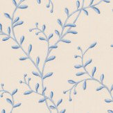 Colefax and Fowler Leafberry Blue Wallpaper - Product code: 7137/06