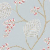 Colefax and Fowler Atwood Old Blue Wallpaper - Product code: 7141/01