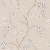 Colefax and Fowler Atwood Blue / Beige Wallpaper - Product code: 7141/06