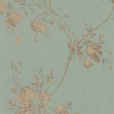 Colefax and Fowler Darcy Eau de Nil Wallpaper