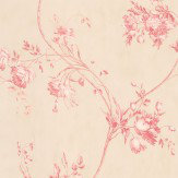 Colefax and Fowler Darcy Red Wallpaper - Product code: 7957/03