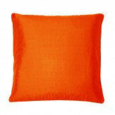 Kandola Silk Cushion Burnt Orange