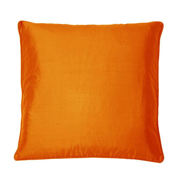 Silk Cushion - Chilli - by Kandola