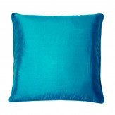 Kandola Silk Cushion Dark Turquoise