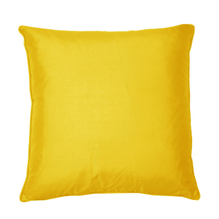 Kandola Silk Cushion Lemon  - Product code: 634