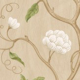 Colefax and Fowler Snow Tree Cream Wallpaper
