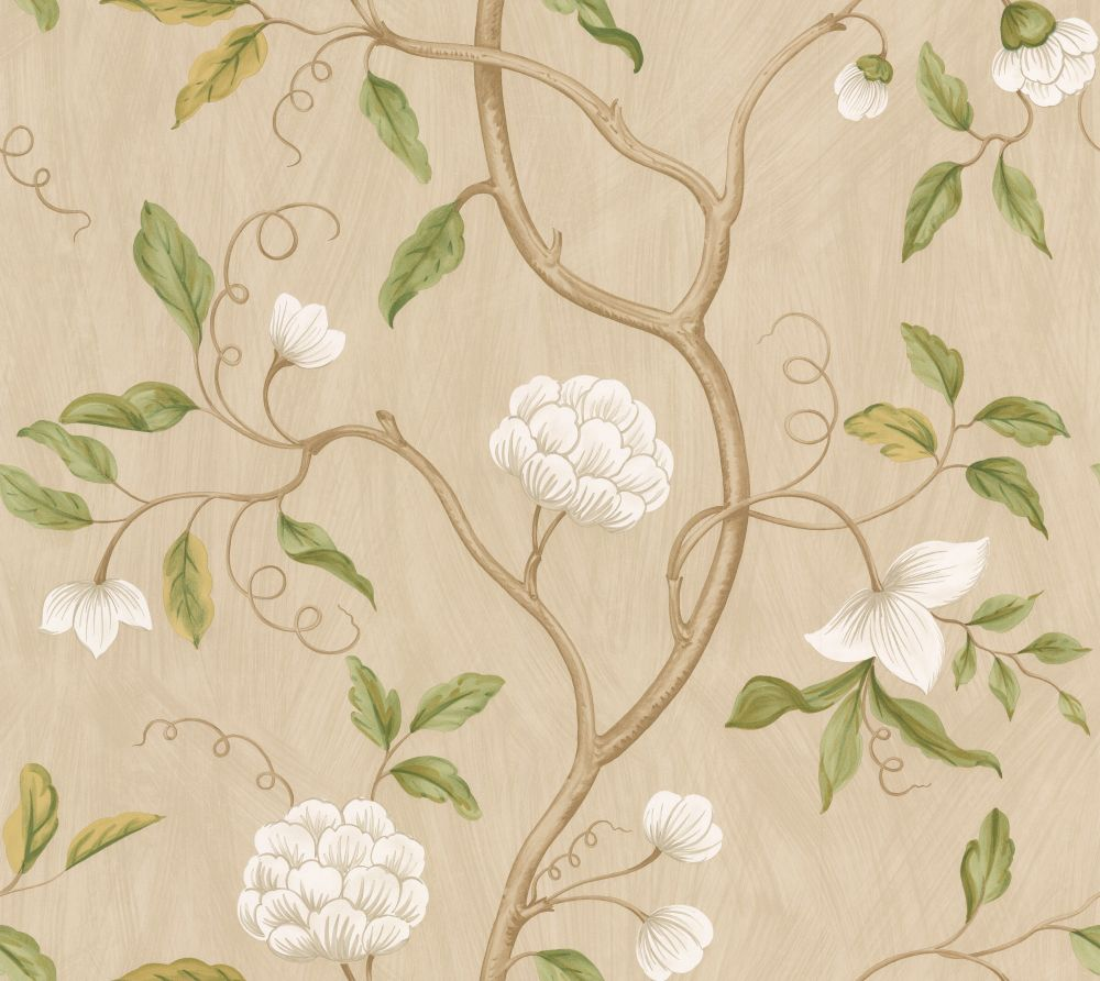 snow tree by colefax and fowler cream wallpaper direct. Black Bedroom Furniture Sets. Home Design Ideas