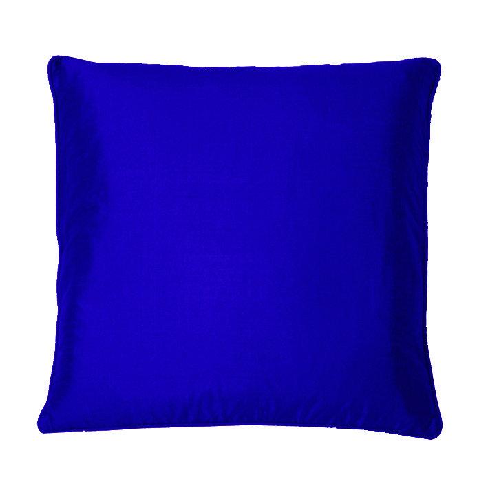 Silk Cushion - Sapphire - by Kandola