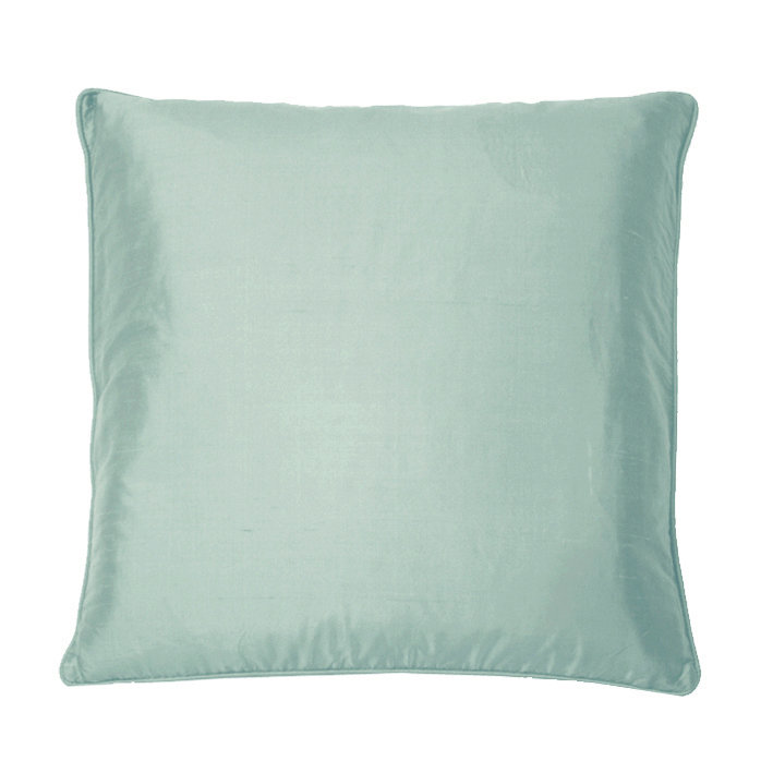 Silk Cushion - Slate - by Kandola