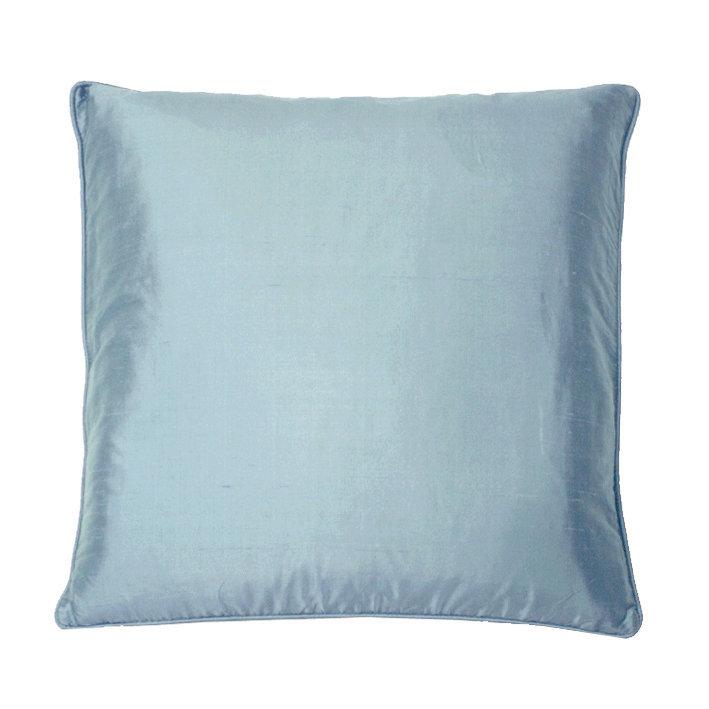 Silk Cushion - Wedgewood - by Kandola